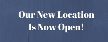 Our New Location Is Open!